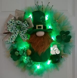 🍀St. Patrick's Day Wreath